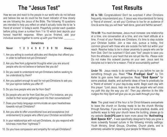 Jesus-Test-Evangelism-Training-Doug-Pollock-Godspace